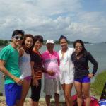 Uddin Family goes Paddleboarding