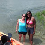 Longtime Friends Paddling